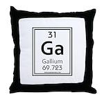 Gallium Throw Pillow