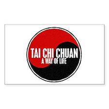 TAI CHI CHUAN Way Of Life Yin Yang Decal