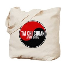 TAI CHI CHUAN Way Of Life Yin Yang Tote Bag