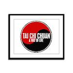 TAI CHI CHUAN Way Of Life Yin Yang Framed Panel Pr
