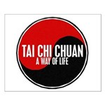 TAI CHI CHUAN Way Of Life Yin Yang Small Poster