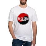 TAI CHI CHUAN Way Of Life Yin Yang Fitted T-Shirt