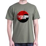 TAI CHI CHUAN Way Of Life Yin Yang Dark T-Shirt