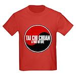 TAI CHI CHUAN Way Of Life Yin Yang Kids Dark T-Shi