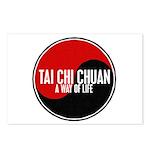 TAI CHI CHUAN Way Of Life Yin Yang Postcards (Pack