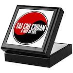 TAI CHI CHUAN Way Of Life Yin Yang Keepsake Box