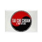 TAI CHI CHUAN Way Of Life Yin Yang Rectangle Magne