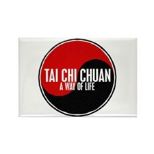 TAI CHI CHUAN Way Of Life Yin Yang Rectangle Magne