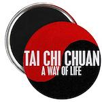 TAI CHI CHUAN Way Of Life Yin Yang Magnet