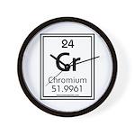 Chromium Wall Clock