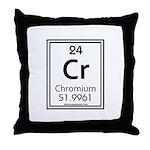 Chromium Throw Pillow