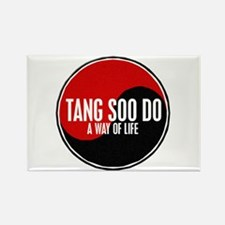 TANG SOO DO Way Of Life Yin Yang Rectangle Magnet