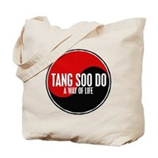 TANG SOO DO Way Of Life Yin Yang Tote Bag