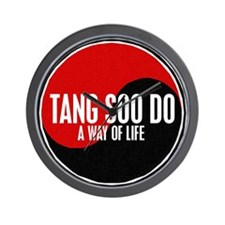 TANG SOO DO Way Of Life Yin Yang Wall Clock