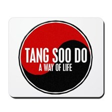 TANG SOO DO Way Of Life Yin Yang Mousepad