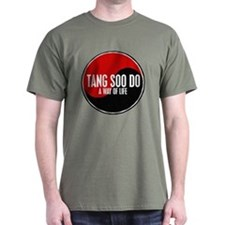 TANG SOO DO Way Of Life Yin Yang T-Shirt