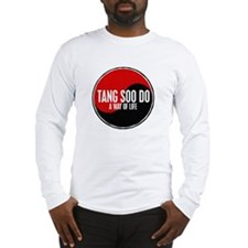 TANG SOO DO Way Of Life Yin Yang Long Sleeve T-Shi