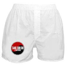 TANG SOO DO Way Of Life Yin Yang Boxer Shorts