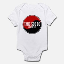 TANG SOO DO Way Of Life Yin Yang Infant Bodysuit