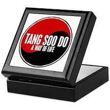 TANG SOO DO Way Of Life Yin Yang Keepsake Box
