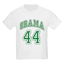 Obama 44th President grn T-Shirt