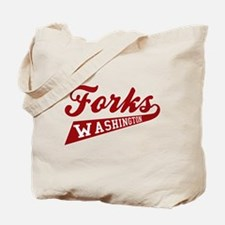 Twilight Forks Washington Tote Bag