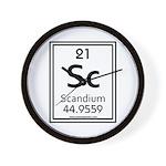 Scandium Wall Clock