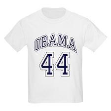 Obama 44th President nvy blu T-Shirt