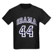 Obama 44th President nvy blu T