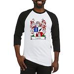Lunin Family Crest Baseball Jersey