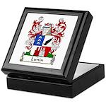 Lunin Family Crest Keepsake Box