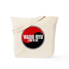 WADO RYU Way Of Life Yin Yang Tote Bag