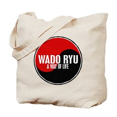 WADO RYU Way Of Life Yin Yang Tote Bag
