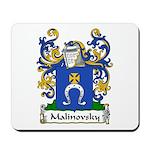 Malinovsky Family Crest Mousepad