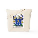 Malinovsky Family Crest Tote Bag