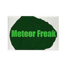 Meteor Freak Rectangle Magnet