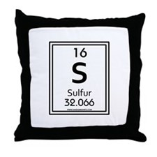 Sulfur Throw Pillow