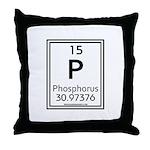 Phosphorus Throw Pillow