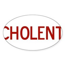 Cholent Oval Decal