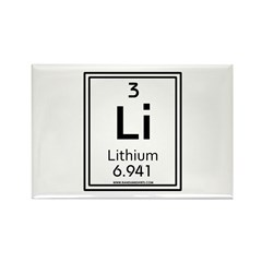 Lithium Rectangle Magnet (10 pack)