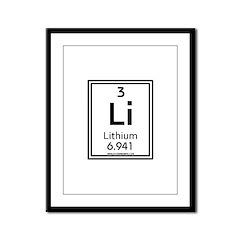 Lithium Framed Panel Print