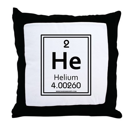 Helium Throw Pillow