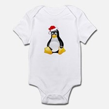 Tux The Christmas Penguin Infant Creeper