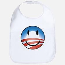 Happy Obama Bib