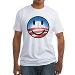 Happy Obama Fitted T-Shirt