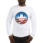Happy Obama Long Sleeve T-Shirt