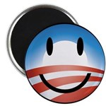 Happy Obama Magnet