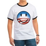 Happy Obama Ringer T