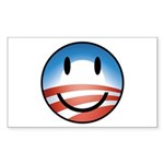 Happy Obama Rectangle Sticker 10 pk)