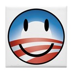 Happy Obama Tile Coaster